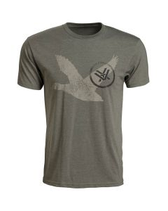 Vortex Short Sleeve Mallard Tracks Logo T-Shirt