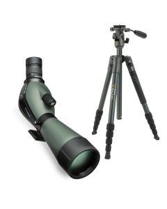 Vortex Diamondback 20-60x80 Spotting Scope Kit with Vanguard Veo 2 235AP Tripod