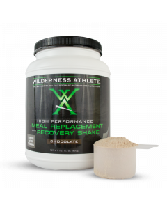 Wilderness Athlete Meal Replacement and Recovery Shake- Chocolate