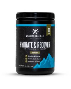 Wilderness Athlete Hydrate & Recover Tub - Berry Blast
