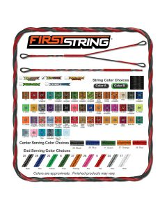 First String X-IT WIRE CUSTOM Bowstring Set