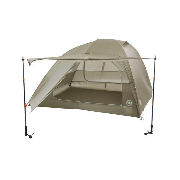 UL4 Big Agnes Inc Unisexs Big Agnes Copper Spur HV UL 4 Person Tent Footprint Grey