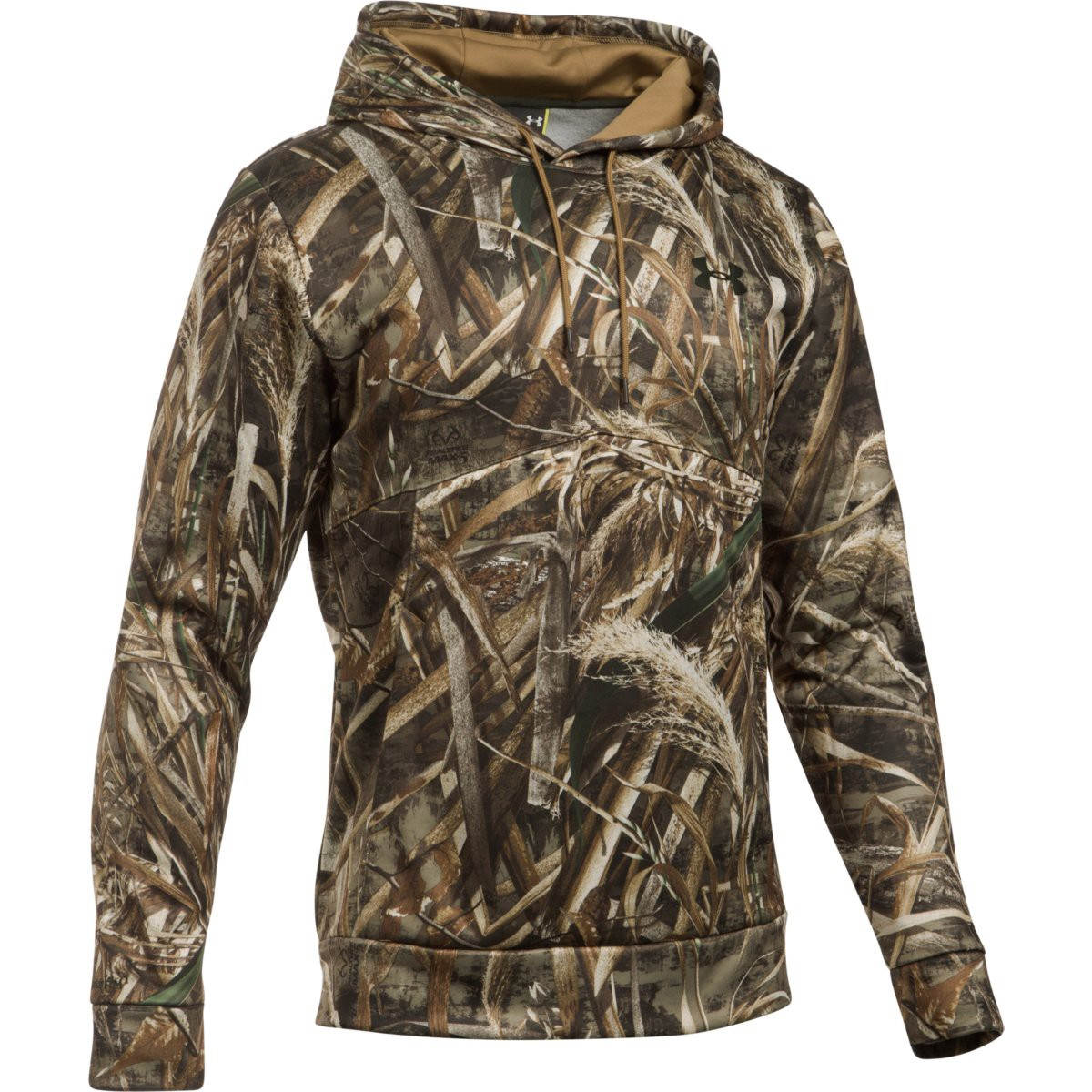 fd0d4746d94 Under Armour Icon Camo Hoodie-Realtree Max-5 Saddle-Large