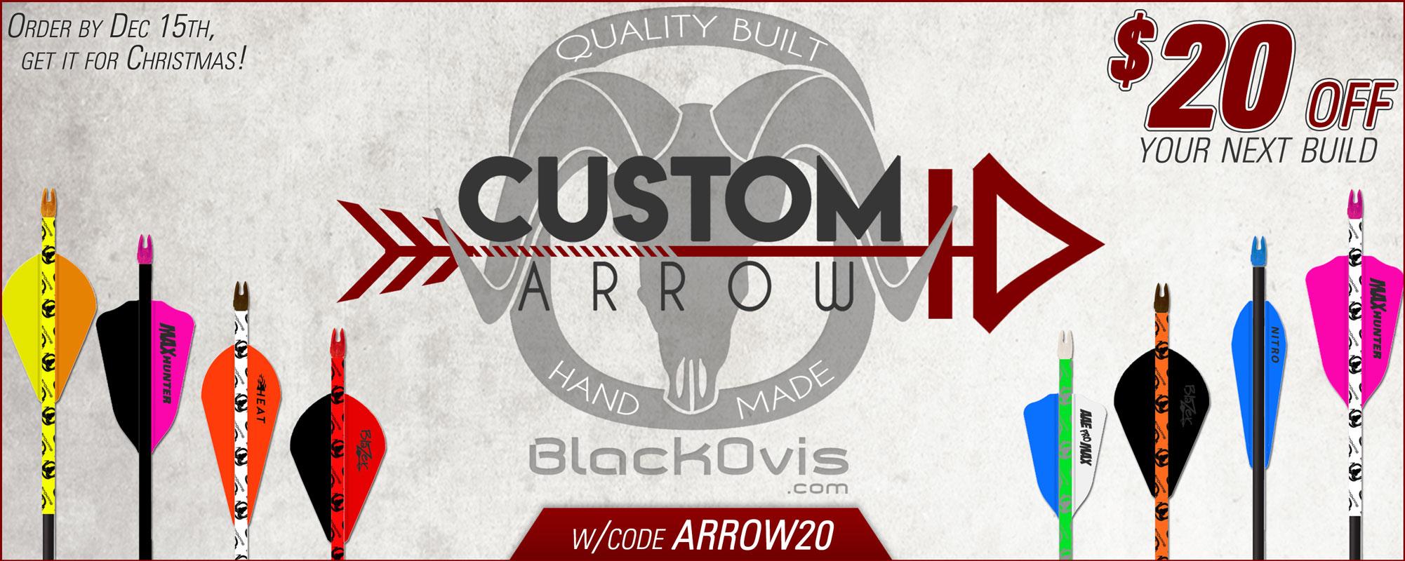 BlackOvis Custom Arrow ID