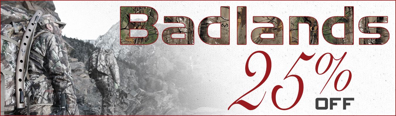 Badlands Hunting Sale