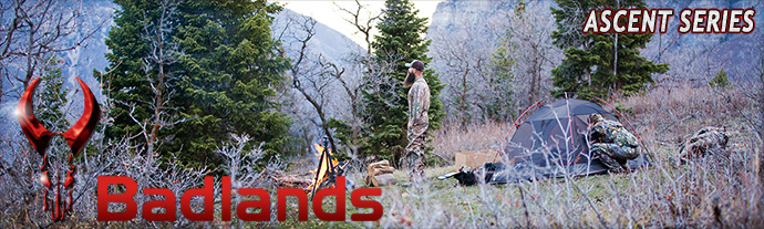 Badlands CAmping Ascent Series