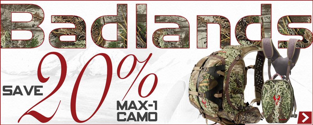 Save on Badlands Max-1
