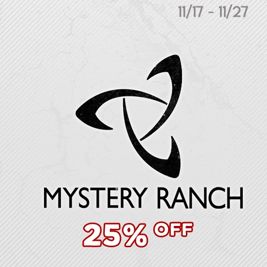 Mystery Ranch  - Black Friday Savings