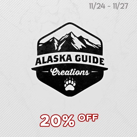 Alaska Guide Creations  - Black Friday Savings