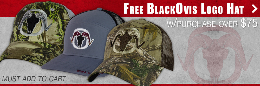 Free hat with purchase of $75 or more