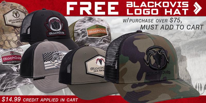 BlackOvis Logo Hat Promo