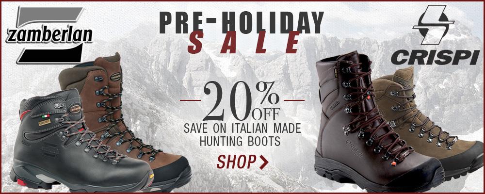 BlackOvis Pre-Holiday Boot Sale