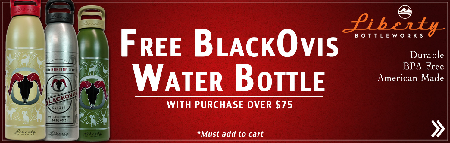 Free BlackOvis Bottle with Purchase