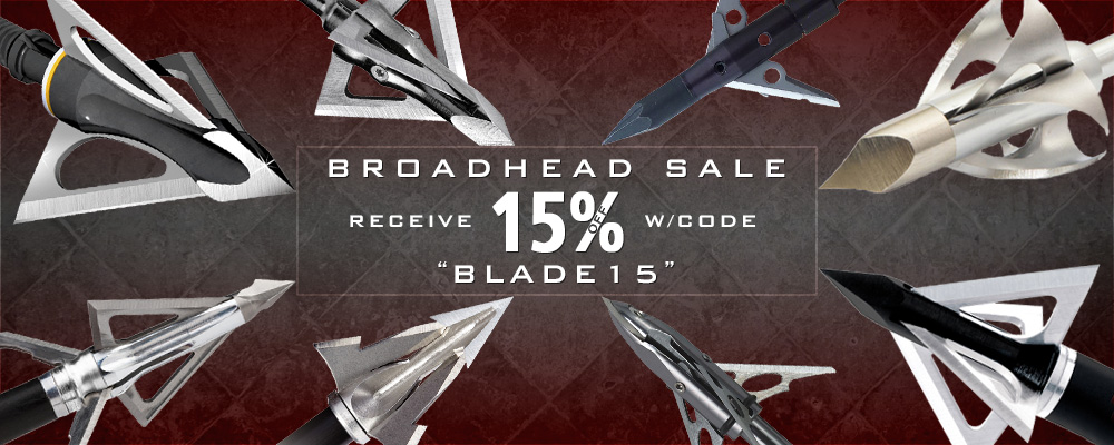 Broadhead Sale on BlackOvis.com