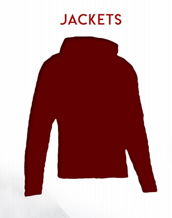 Jacket Selection on BlackOvis.com