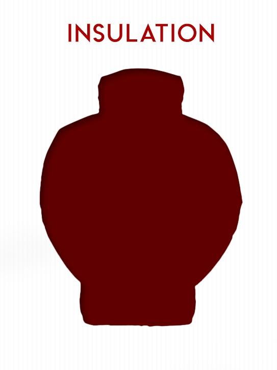 Insulation Selection on BlackOvis.com