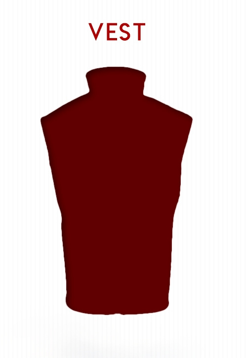 Vest Selection on BlackOvis.com