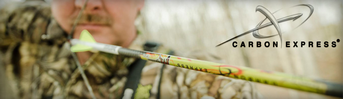 Carbon Express Arrows for Archery Hunting