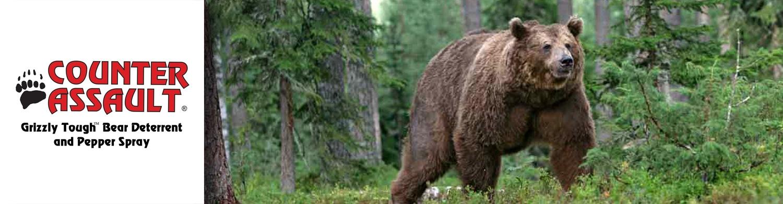 Shop Counter Assault Bear Spray and Deterrent