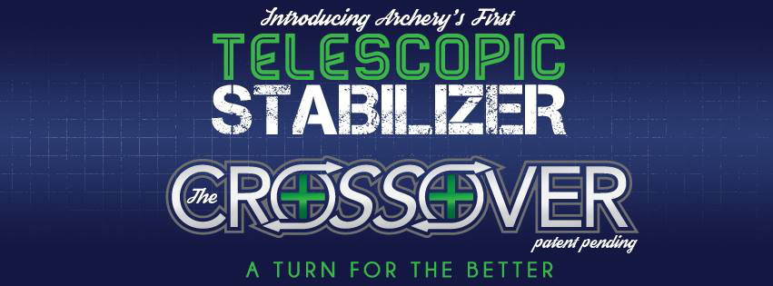 Crossroad Archery | Crossover Telescopic Stabilizers