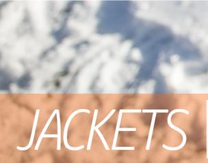 First Lite Jackets