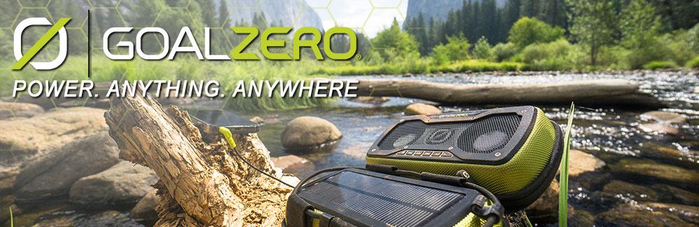 Goal Zero Solar Powered Outdoor Equipment