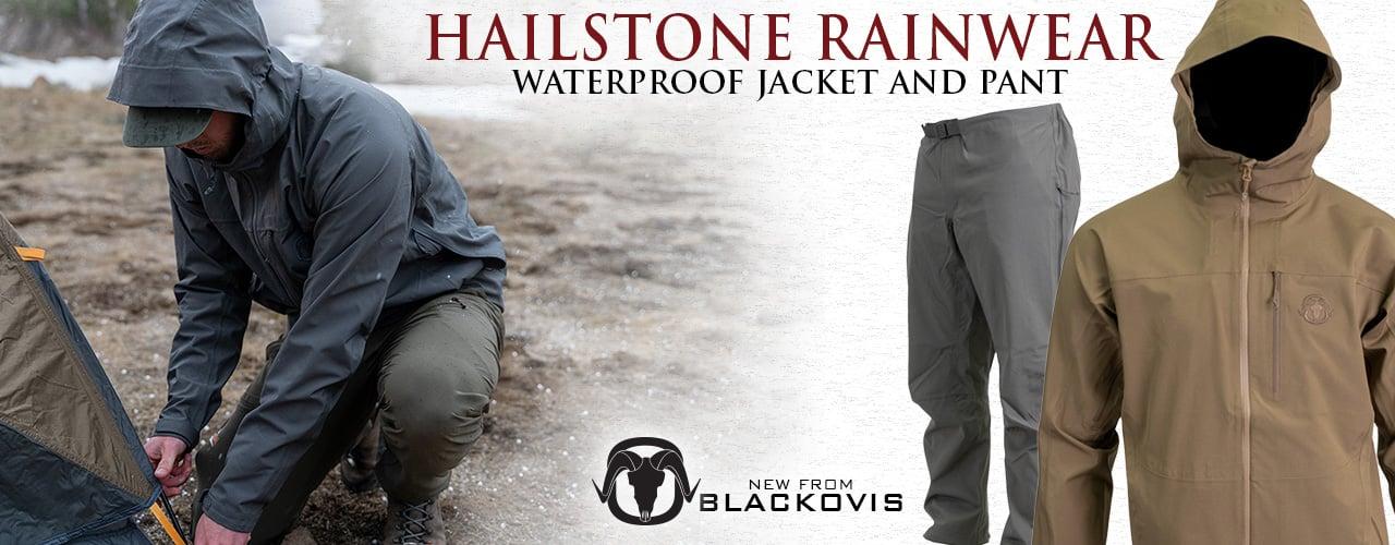 BlackOvis Hailstone Waterproof Jacket and Pant