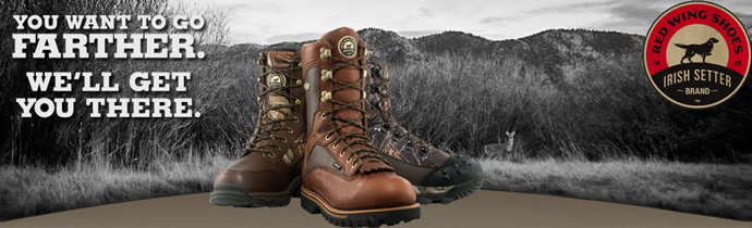 Irish Setter Hunting and Sporting Boots from Red Wing