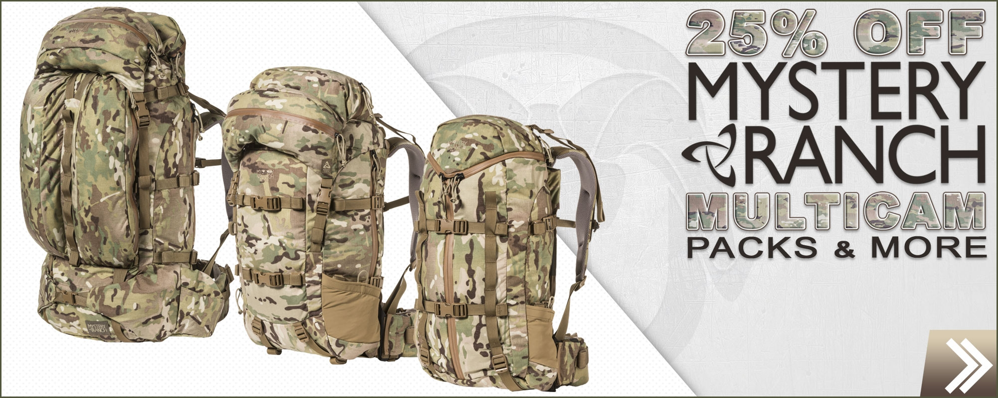 Save now on Multicam from Mystery Ranch