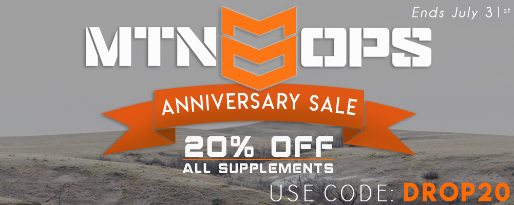 MTN OPS Anniversary Sale