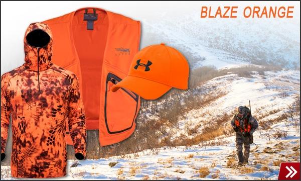 Blaze Orange Rifle Gear