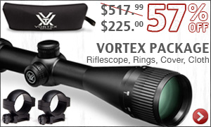 Crossfire II Riflescope Package