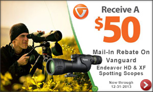 Vanguard Spotting Scope Rebate