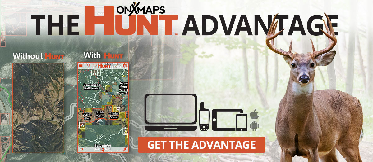 ONXMaps Hunting GPS maps