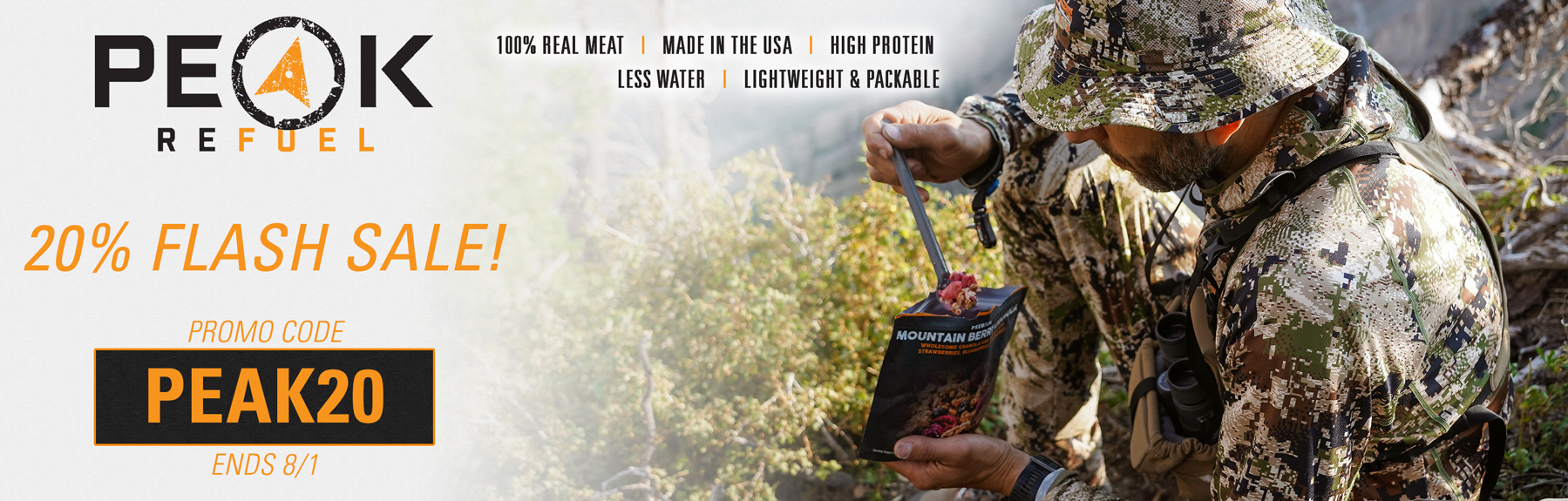 Save on Premium Freeze Dried Meals