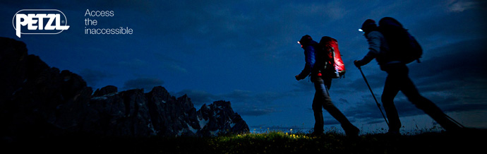 Petzl Headlamps and Technical Gear