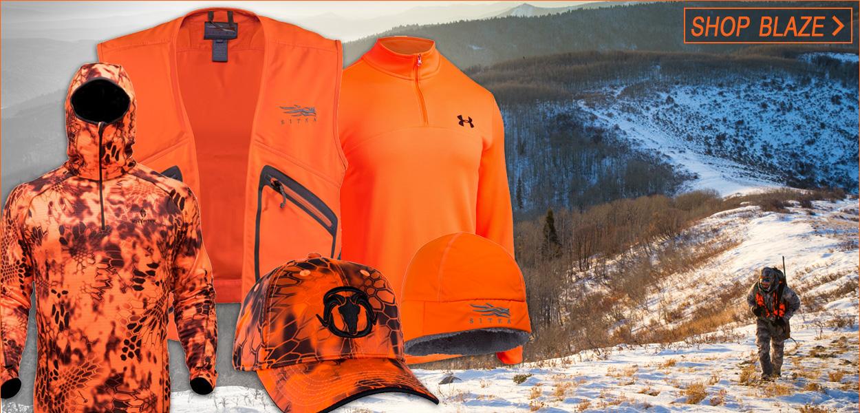 66209e29ec06d Blaze Orange Hunting Apparel on BlackOvis.com