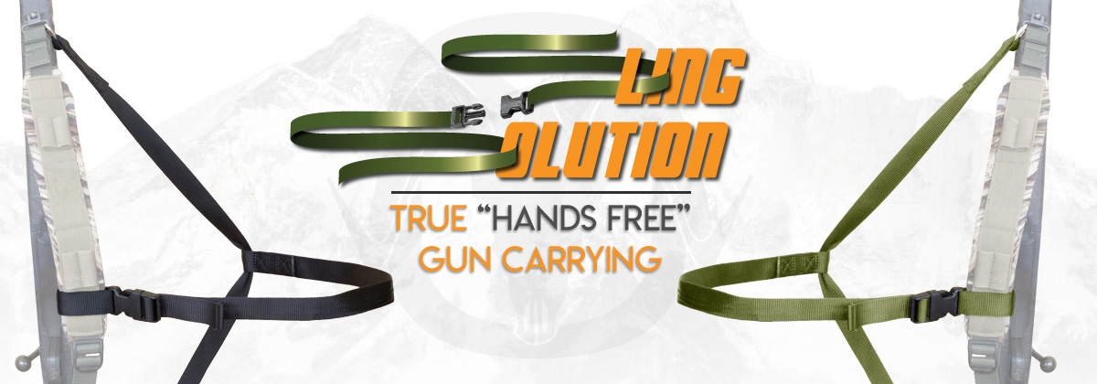Sling Solution - Hands Free Rifle Carry