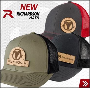 BlackOvis Meshback Hats