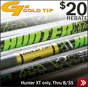 $20 off Gold Tip Hunters
