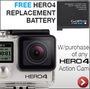 Free Hero4 Replacement Battery