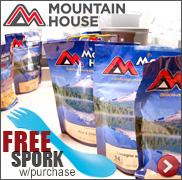 Mountain House Freeze Dried Foods