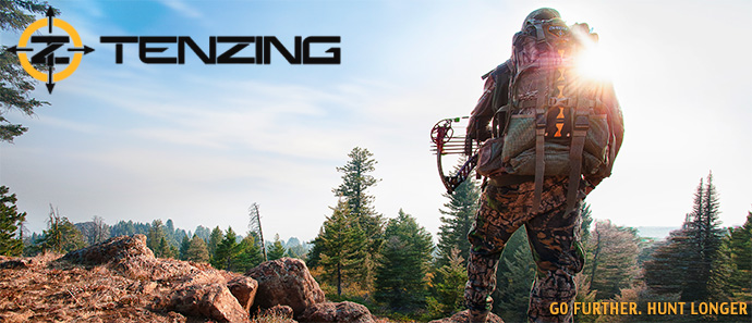 Tenzing Technical Hunting Packs on BlackOvis