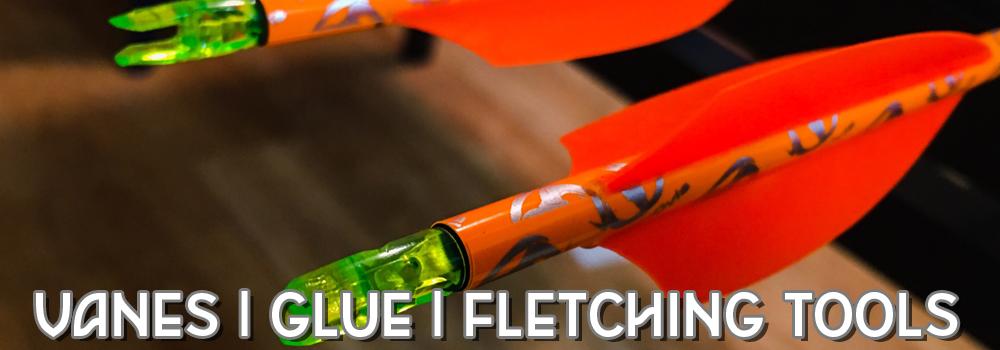 Custom fletch your arrows by purchasing Premium Brands on BlackOvis.com