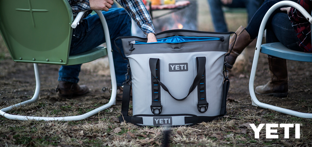 YETI Coolers and Tumblers