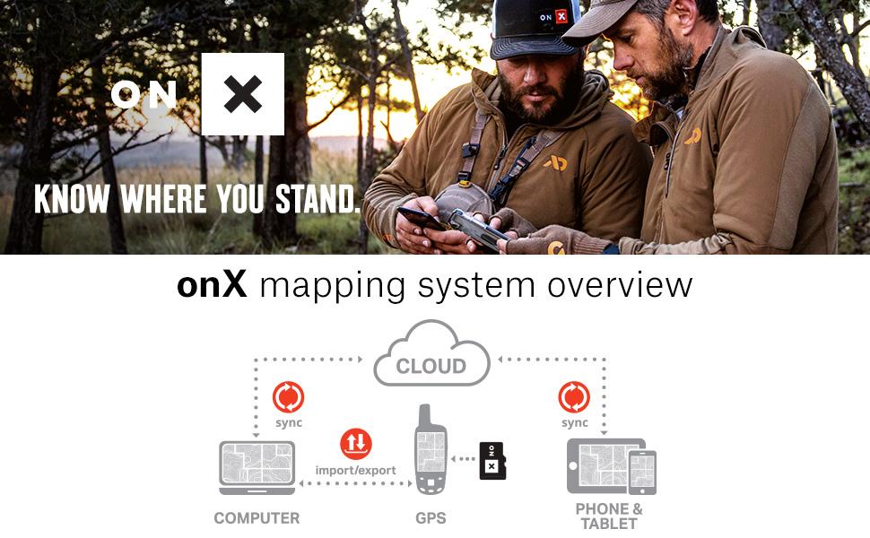 OnX Hunt Hunting GPS maps