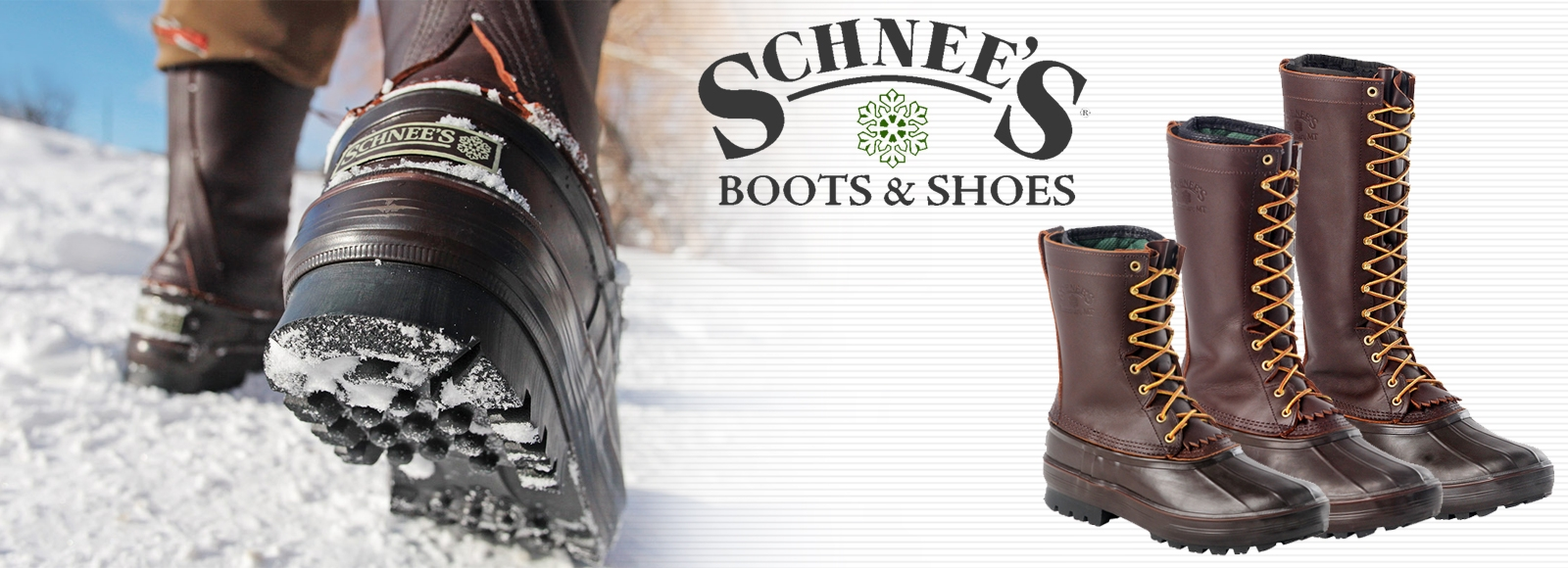 Schnee's Mountaineering PAC Boots