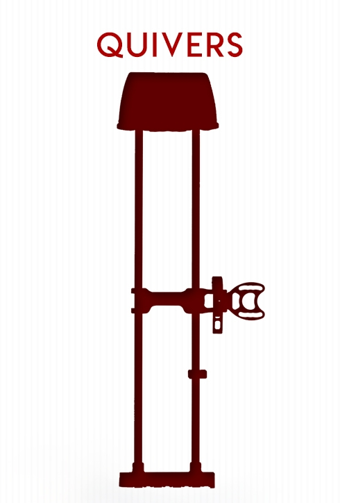 Archery Quivers Selection on BlackOvis.com