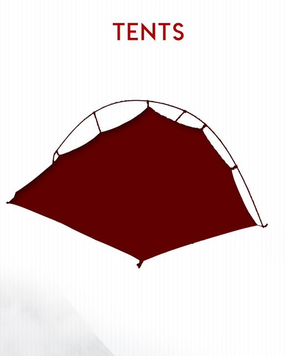 Tent Selection on BlackOvis.com