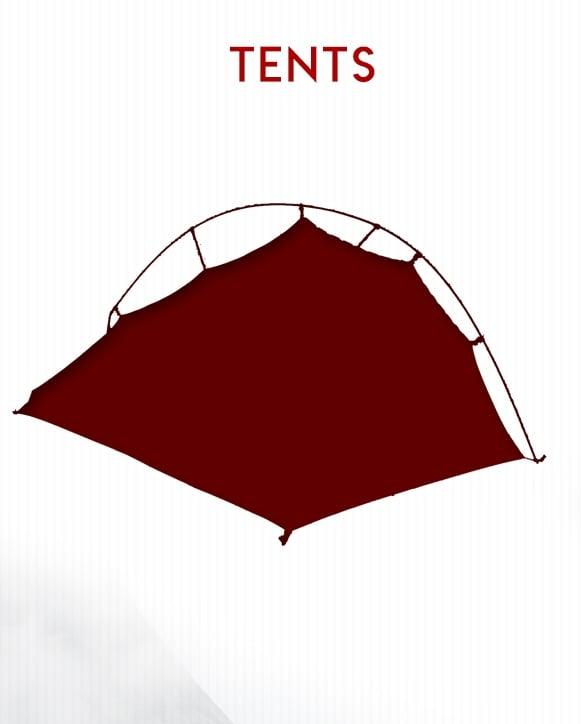 Tent Selection on BlackOvis.com